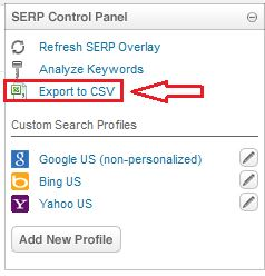 export url to excel