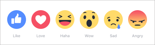 facebook reactions buttons