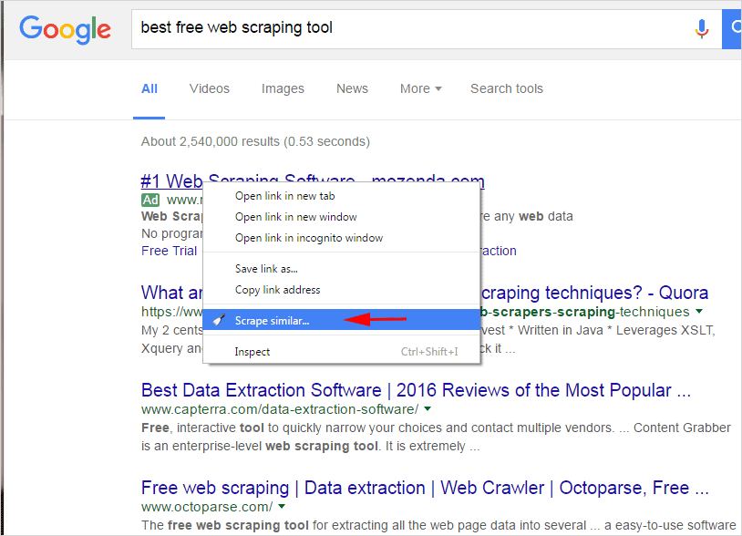 Best Free Web Scraping Tools for non-programmers - Simplified Web