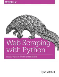 Web scraping with python by Ryan Mitchell