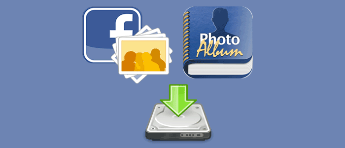 download facebook album